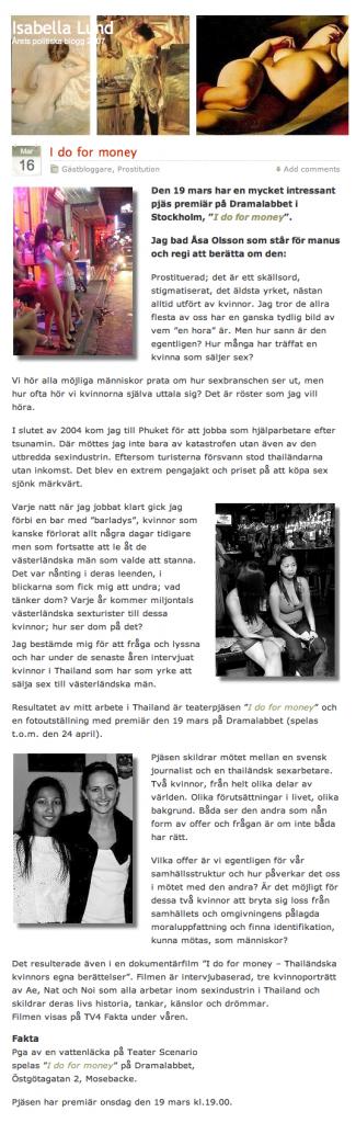 Gästblog - Isabella Lund