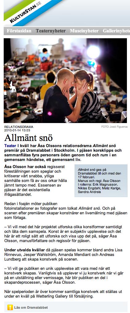 Intervju - Kulturstan.se
